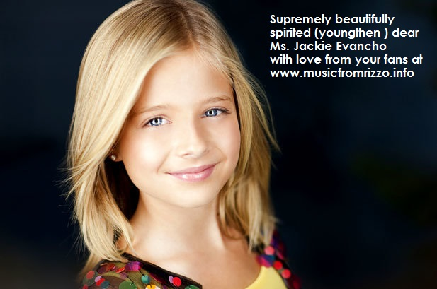 Young Miss Jackie Evancho - singing star at 10