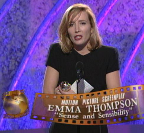 Emma Thompson - Globes award speech picture
