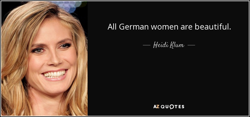 Heidi Klum quote from google search